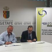 Placo y Getafe firman un acuerdo para el reciclaje de placas de yeso