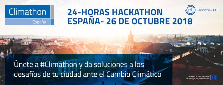 Nueva edición de Climathon, el evento mundialsobre cambio climático
