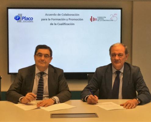 Fundación Laboral y Placo impulsan la cualificación profesional de los instaladores de PYL