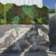 Arte urbano con hormigónserigrafiadoen Monesterio