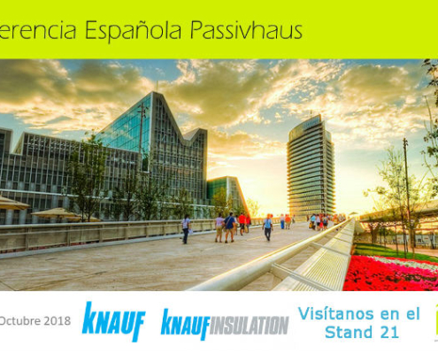 Grupo Knaufestará presente en la10ªConferencia Passivhaus