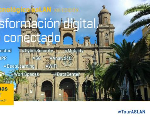 Las Palmas acoge la tercera parada del Tour Tecnológico ASLAN 2018