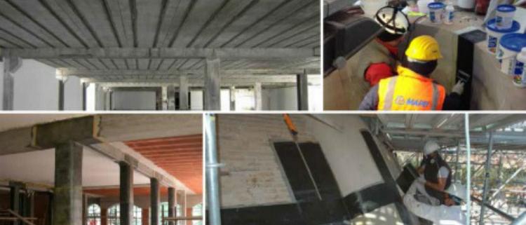 Mapei organiza una jornada sobre protección antisísmica de los edificios