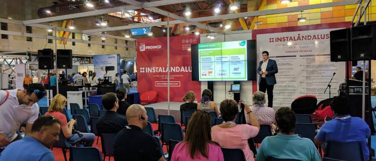 Siber participa en Instalándalus, la cita de la edificación en Andalucía
