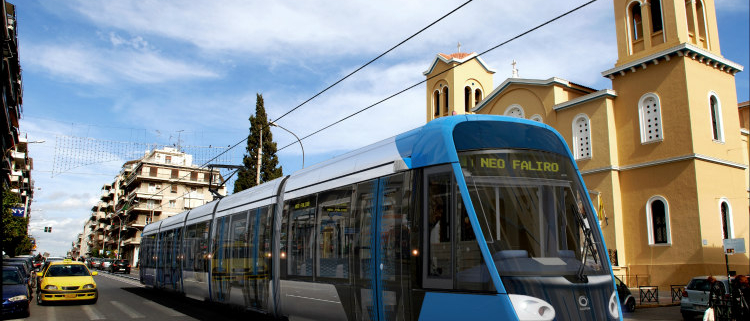 Alstom España suministrará 25 tranvías Citadis X05 para Atenas