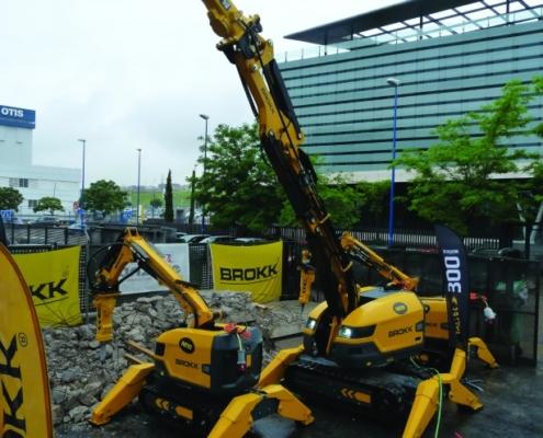 Brokk presenta cuatro nuevos robots de demolición de última generación