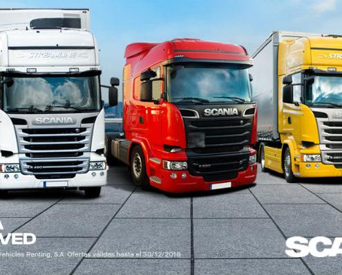 Nueva campaña de vehículos seminuevos Scania con cobertura Approved