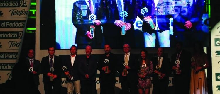 La empresa COHIDREX galardonada con el Premio Empresario Extremeño 2018