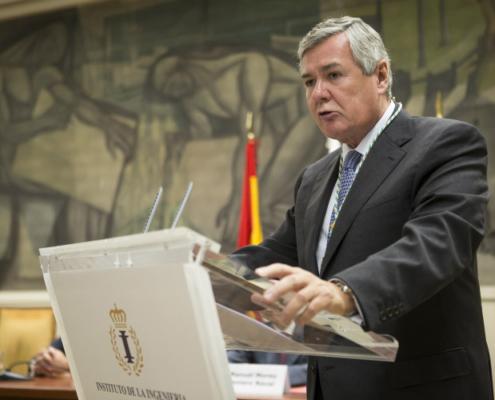 El presidente de SENER recibe la medalla de Miembro de Honor del Instituto de la Ingeniería de España