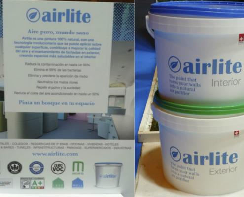 """Airlite: la """"depuración del aire en forma de pintura"""""""