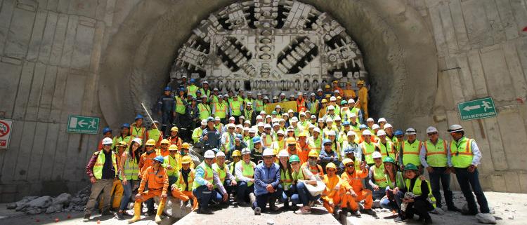 ACCIONA Construcción finaliza las obras de excavación del túnel del Metro de Quito