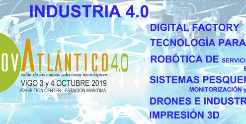 InnovAtlántico 4.0: el Salón de las Nuevas Soluciones Tecnológicas
