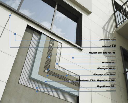Mapei organiza una jornada en el CAATIE sobre aislamiento térmico de edificios por el exterior