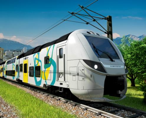 Bombardier suministrará a Francia 19 trenes OMNEO Premium de doble piso