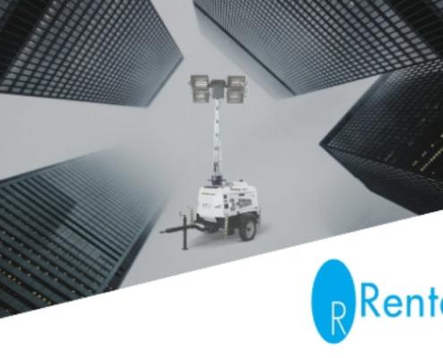 Torres de iluminación T3 LED dentro de la oferta comercial de Rentaire
