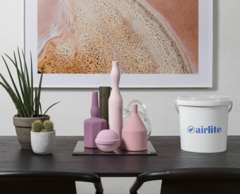 Airlite, la pintura ecológica anticontaminación, se presenta en Construtec