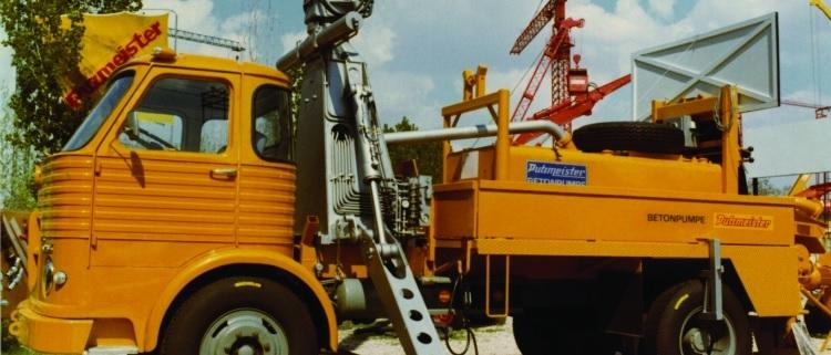 60 años Putzmeister: Innovación por Tradición