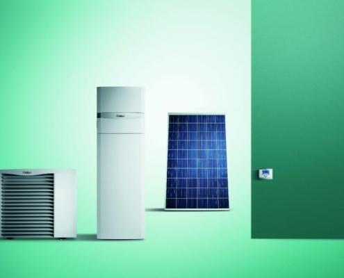 Vaillant apuesta por la energía fotovoltaica con el sistema auroPOWER