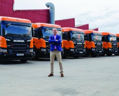 El Grupo Mat compra 6 camiones Scania P450 XT