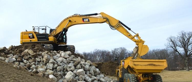 Las excavadoras Cat de la próxima generación ofrecen más opciones para aumentar la eficiencia y reducir los costes operativos en la clase de 36 toneladas