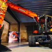 Nuevas opciones SVAB/Steelwrist instaladas en fábrica para la gama de cargadoras de ruedas Doosan