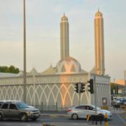 Corian Solid Surface en la nueva mezquita Sheik Aziz en Bahréin