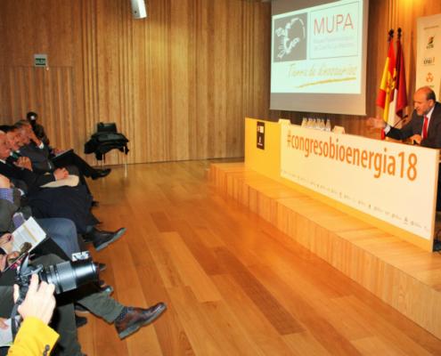 Instalaciones de biomasa para uso público en el Congreso de Bioenergía 2018