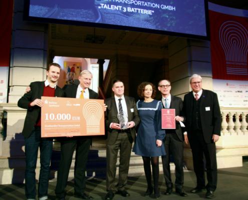 Premio a la innovación Berlin Brandenburg por la versión BEMU del TALENT 3