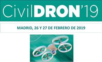 V Congreso sobre las Aplicaciones de los DRONES a la Ingeniería Civil: CivilDRON'19