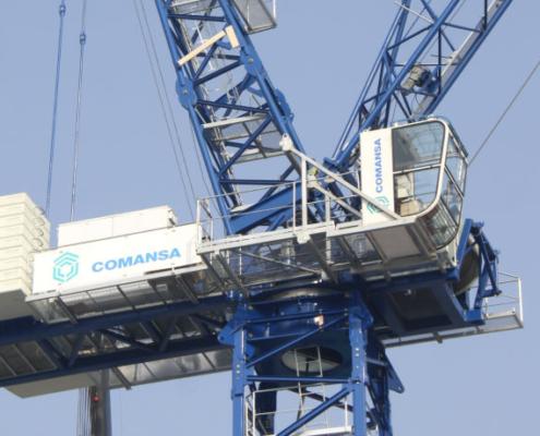 COMANSA lanza las grúas abatibles CML280 y CML310 en bauma China