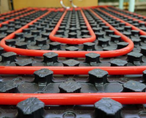 Weberenergyfloor, el sistema de calefacción radiante para viviendas