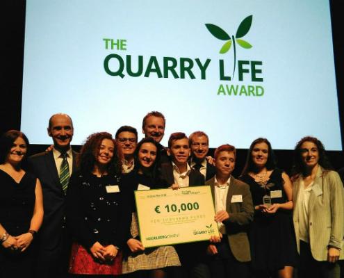 Un proyecto español entre los ganadores de The Quarry Life Award 2018