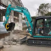Remodelación de un ingenio azucarero histórico en Reunión con la cuchara trituradora MB-C50