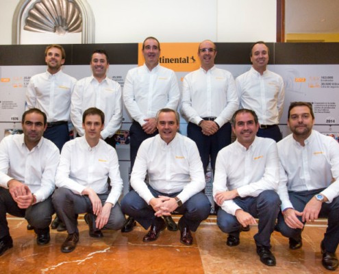 Continental celebra 75 años en España y prevé un crecimiento del 5% en 2019