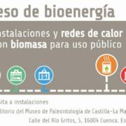 Congreso Nacional de Bioenergía 2018: 'Instalaciones y redes de calor con biomasa para uso público'