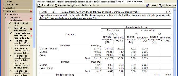 BREEAM España valida el módulo de CYPE Impacto ambiental. Análisis del ciclo de vida