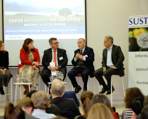 SUST4IN organiza la Jornada COP24 Katowice: The Day After
