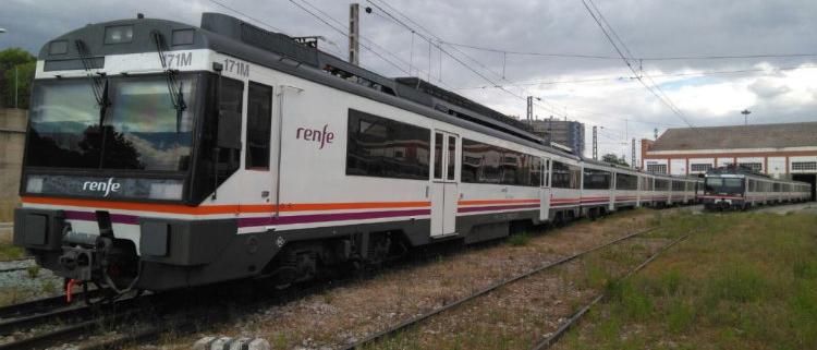 BTren mantendrá 92 trenes de Cercanías de Renfe