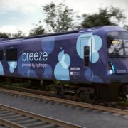 Alstom presenta el tren de hidrógeno Breeze en Reino Unido