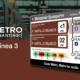 DENEVA en la nueva línea 3 de metro de Santiago de Chile