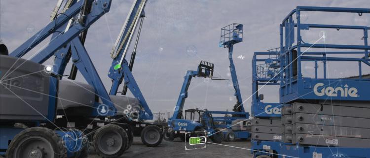 Gestión de flotas con el nuevo sistema telemático Genie Lift Connect