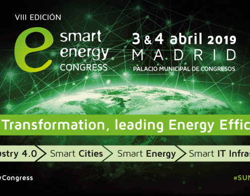 VIII edición del Smart Energy Congress: 'Digital Tranformation, Leading Energy Efficiency'
