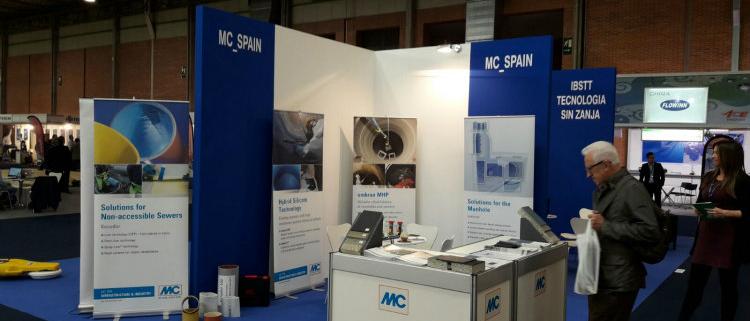 Sistemas de reparación ombran, Konudur y Spray-liner de MC-Bauchemie Spain en Smagua