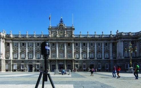 Modelo milimétrico en 3D del Palacio Real Español posible gracias a la revolucionaria tecnología de Leica Geosystems