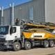 Nuevo camión-bomba de hormigón 42 M5 XXT de Liebherr en bauma 2019