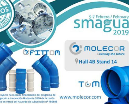 Molecor participa como expositor en Smagua 2019