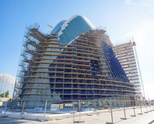 ULMA participa en el proyecto de rehabilitación del edificio Ágora, Ciudad de las Artes y las Ciencias de Valencia