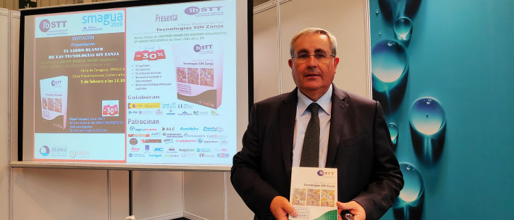 Presentación del Libro Blanco de las Tecnologías SIN Zanja en SMAGUA