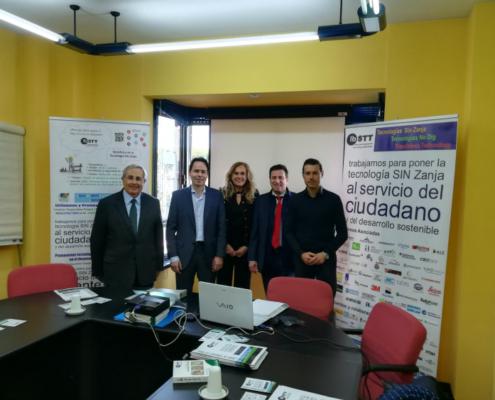 Nueva junta directiva de IBSTT, la Asociación Ibérica de Tecnología SIN Zanja
