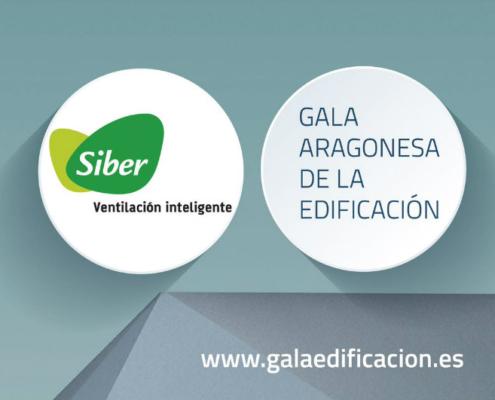 Siber patrocina la Gala Aragonesa de la Edificación